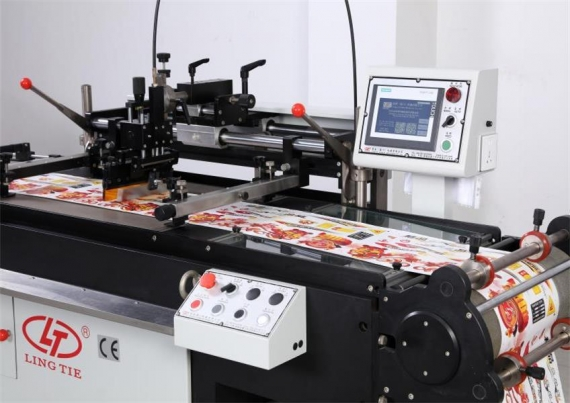 Flexible Circuit Roll-To-Roll Screen Printing Machine