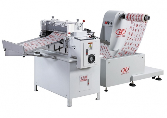 Papier Offline Roll Roll to Sheet Cutter Machine